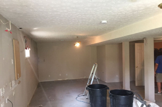 Basement Remodeling Louisville KY - before