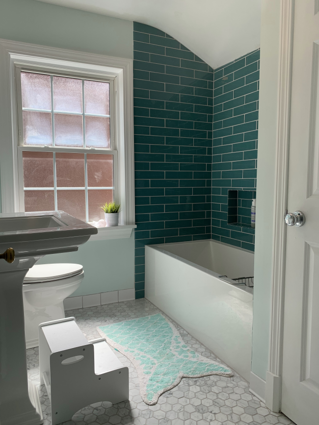 Part of Norsemen's bathroom remodeling process in Louisville, KY is to take into account the needs of the homeowner.
