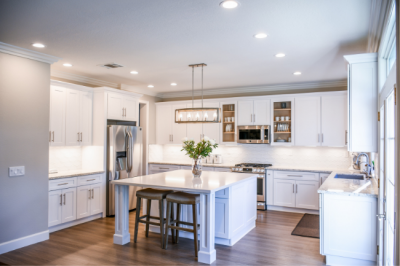 Contractors at Norsemen Company of Louisville, KY create stunning kitchen remodeling work.